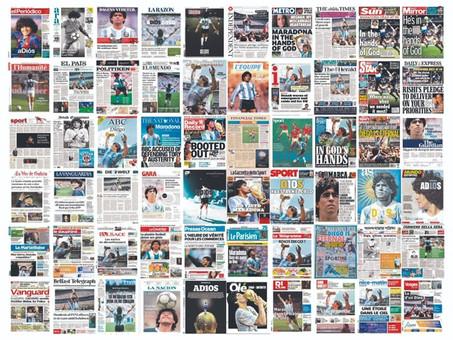 Maradona: En el Mundo hablaron de él