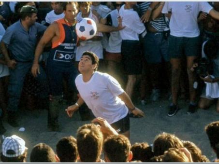 Historias cruzadas: El vínculo entre Maradona y Cabezas