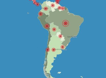 La amenaza sobre América del Sur