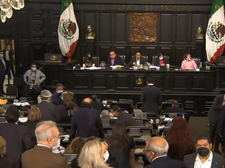 COVID 19: El Congreso mexicano arrasado por el peor enemigo