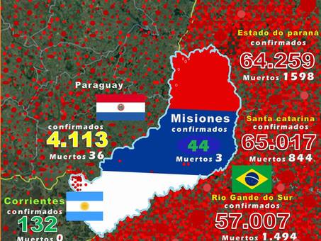 Misiones: rodeada por el enemigo
