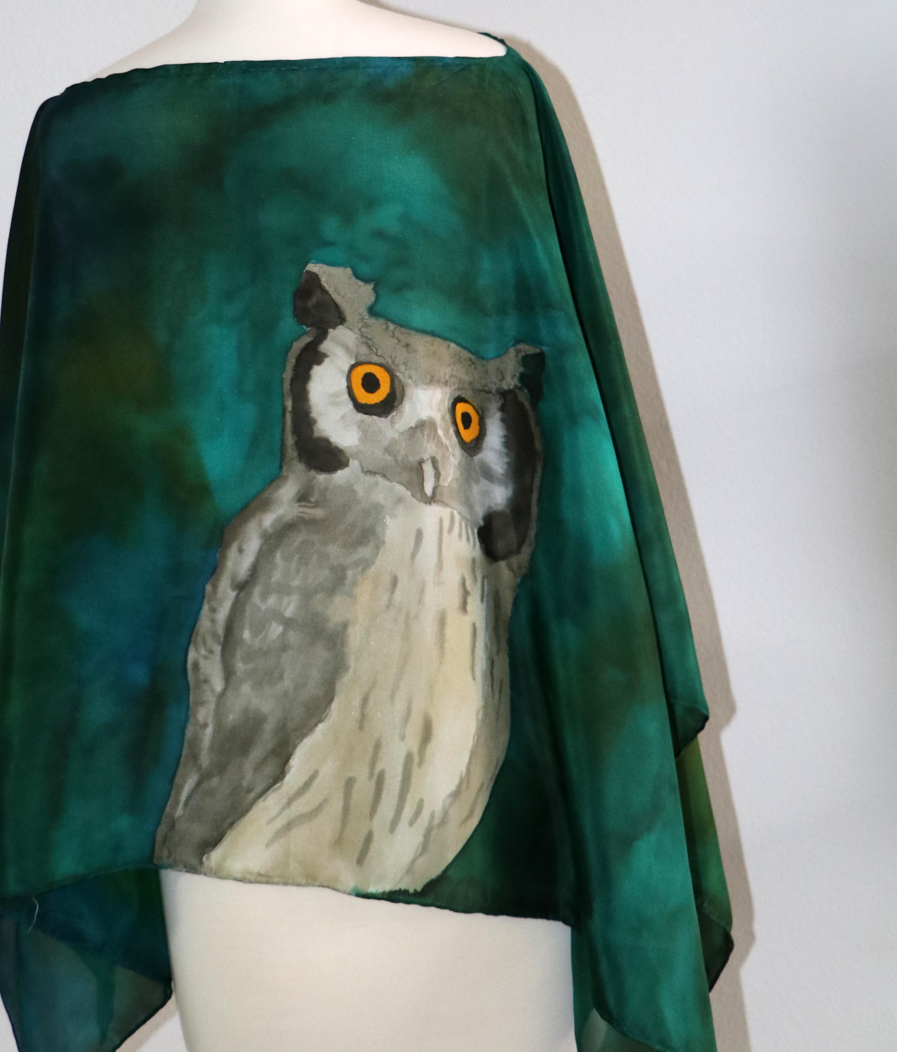 Owl back