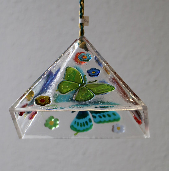 Butterflies in Hanging Pyramid