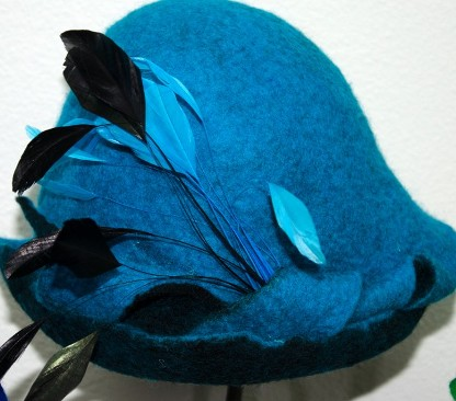 Turquoise with Feathers