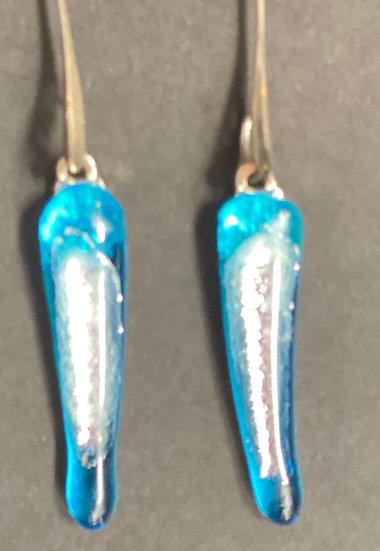 Fused glass earrings 5
