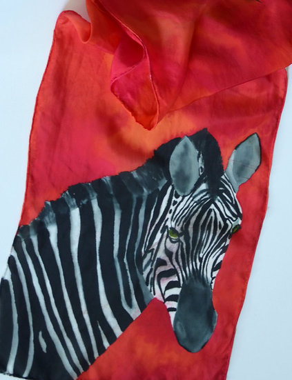 Zebra in the Red