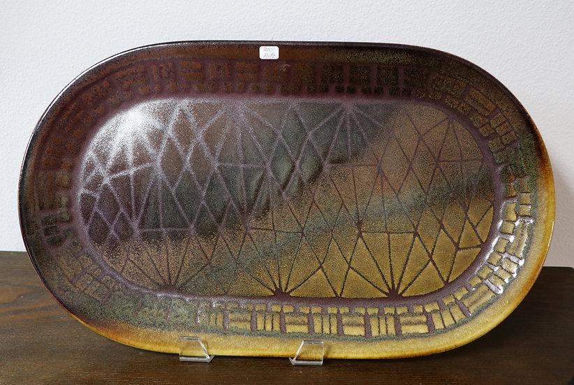 Brown/Tan Platter