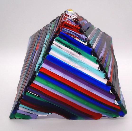 Pyramid multi-colored