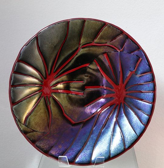 Red Broken Design Bowl