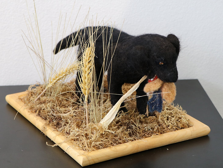 Felted Sulpture