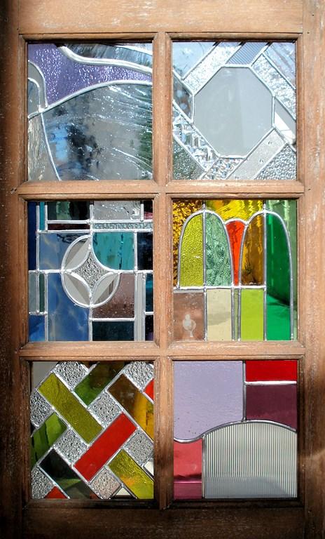 fenêtre vitrail