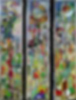 panneaux vitrail