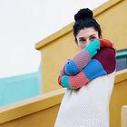 Trol: marca española de moda sostenible con mucho Color. Prendas de punto en lana merino y algodón egipcio. Diseño de estampados personalizados en telas algodón orgánico.