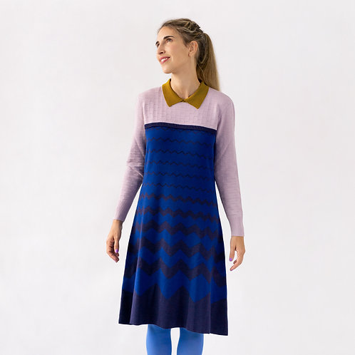 vestido ZIGZAG