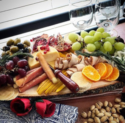 The Beauty of our Platters will Flatter