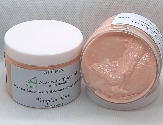 Foaming Sugar Scrub - Pumpkin Patch