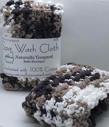 Spa Cloth - Brown/Cream