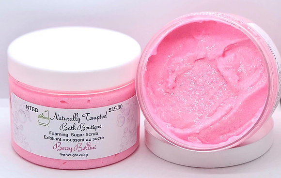 Foaming Sugar Scrub - Berry Bellini
