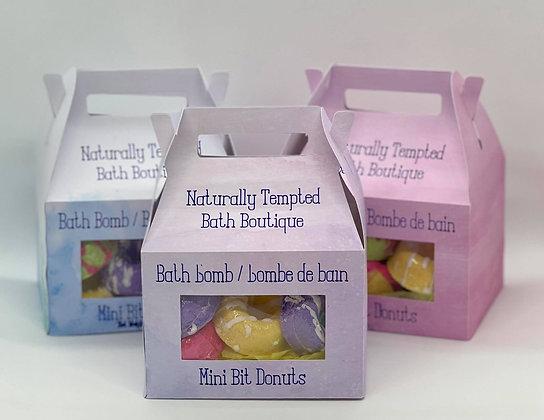 Mini Bit Bathbomb Donuts
