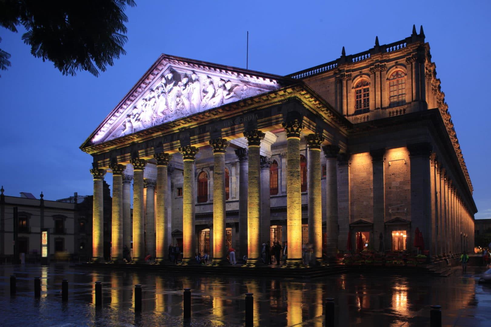 Teatro Degollado Exterior