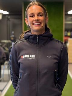 Personlig trener og fysioterapeut hos PT Gruppen som har sine PT-timer og fysio behandlinger på vårt private PT-senter i Nygårdsgaten i Bergen Camilla Haugeland