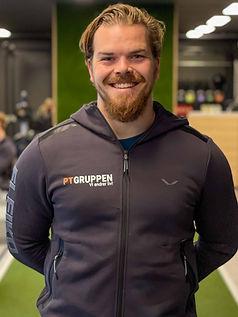 Personlig trener og muskelterapeut hos PT Gruppen som har sine PT-timer og behandliger på Sammen Fantoft og Lehmkuhl ved NHH i Sandviken i Bergen Kristian Hansen