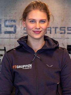 Personlig trener hos PT Gruppen som har sine PT-timer på SIS Sportssenter i Stavanger Helene Tangerås