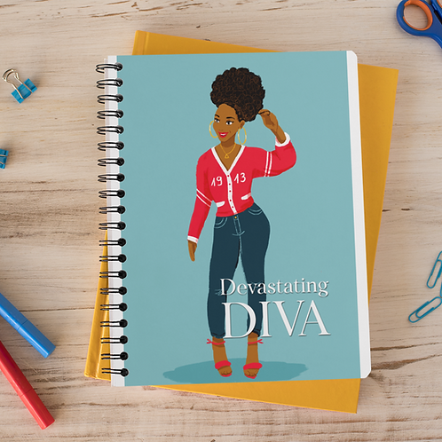 Devastating Diva 1913 Notebook (Pants)