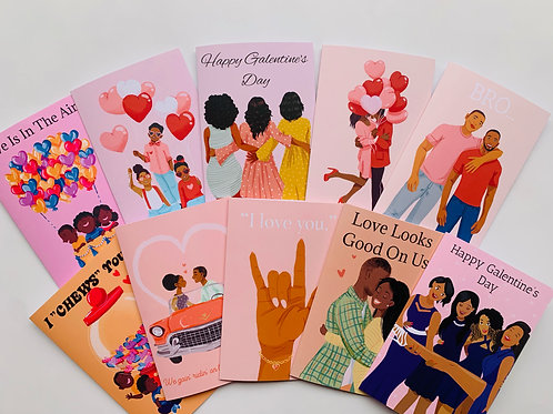 Black Love Greeting Card Collection