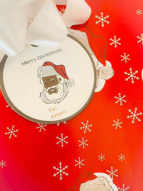 Our St. Nick Round Gift Tags