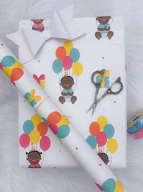 Beautiful Black Babies Unisex Gift Wrap