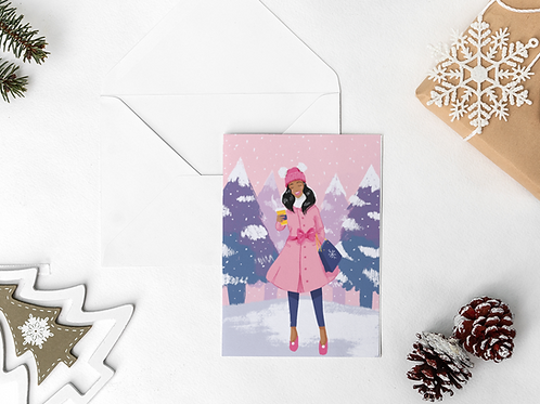 Baby Its Cold Outside Notecard Set
