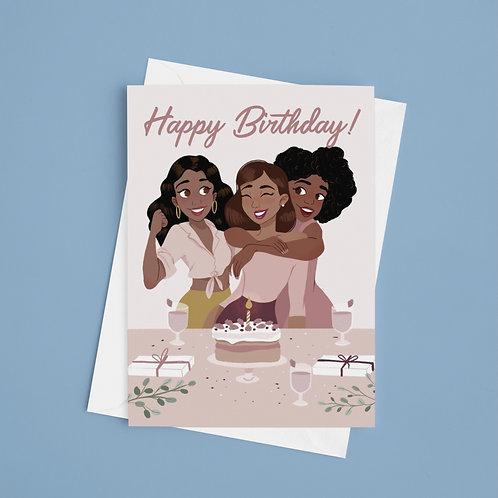 Girlfriend's Birthday Card