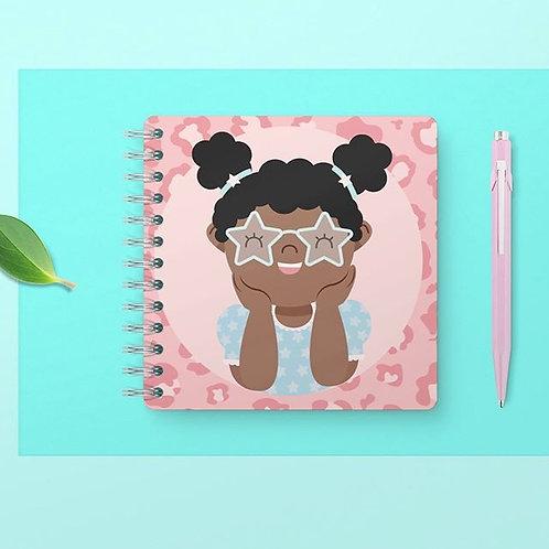 Brown Skin Girl Notebook