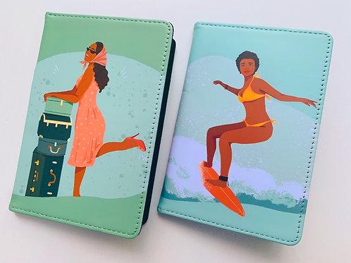 Black Girls Travel Too Passport Cover