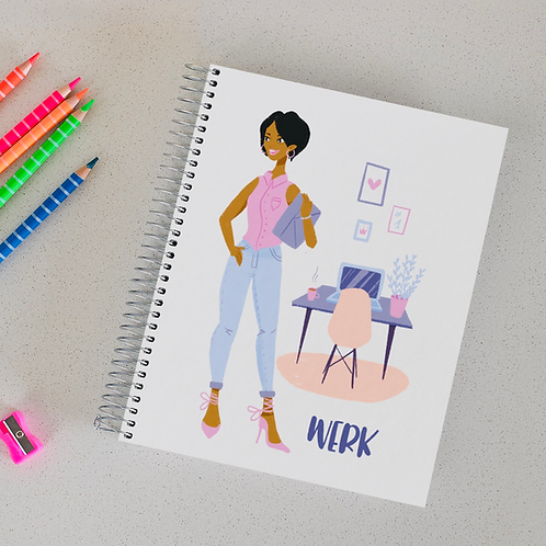 """""""Werk"""" Notebook"""