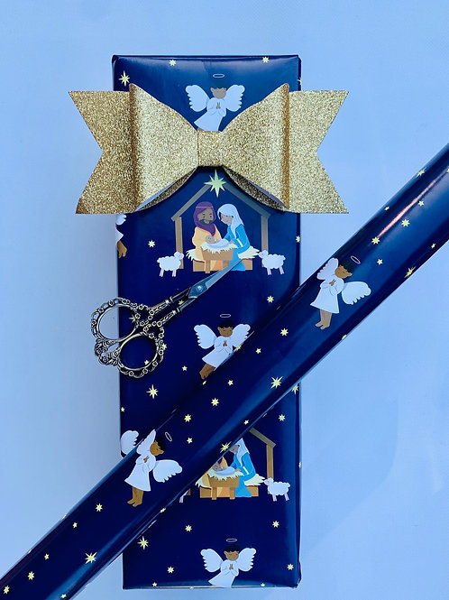 Black Nativity Wrapping Paper