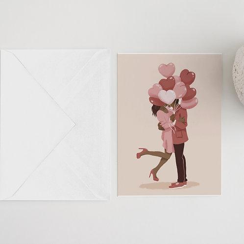 Love Balloons Card