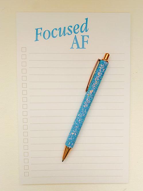 Focused AF Notepad