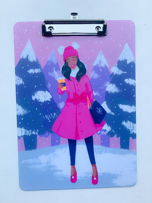 Baby Its Cold Outside Clipboard