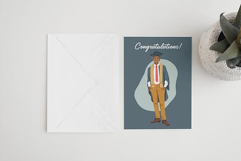 Congratulations Graduate (Male)