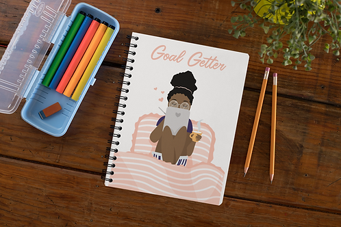 Large Goal Getter Notebook (8.5x11)