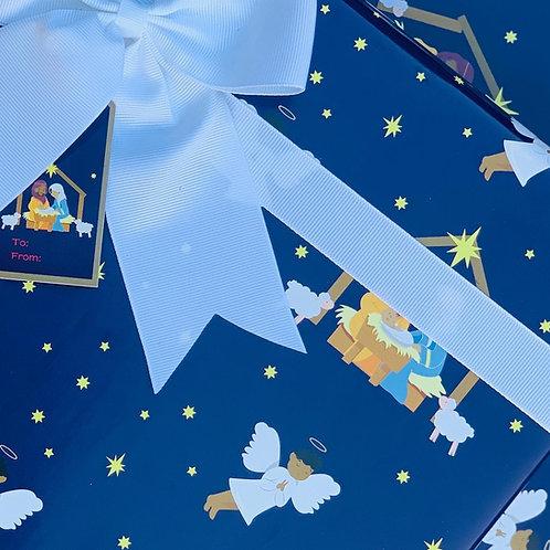 Black Nativity Gift Tags