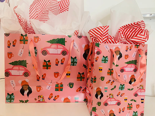 Pretty In Pink Gift Bags