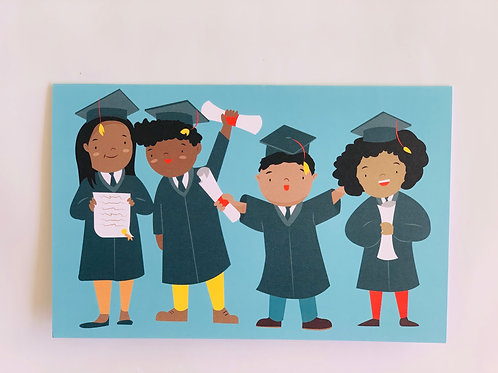 Black Excellence Greeting Card
