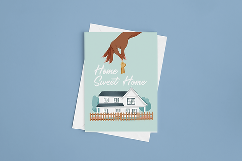 Home Sweet Home (Notecard Size)