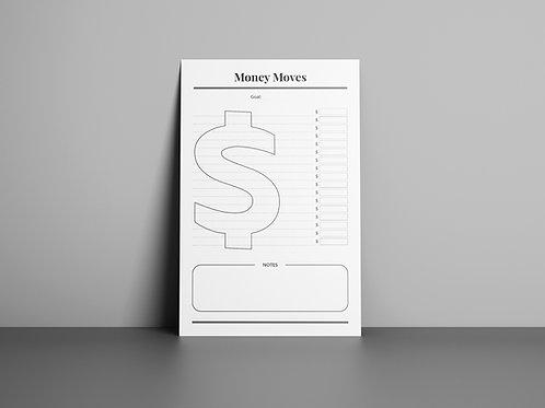 Money Moves Notepad