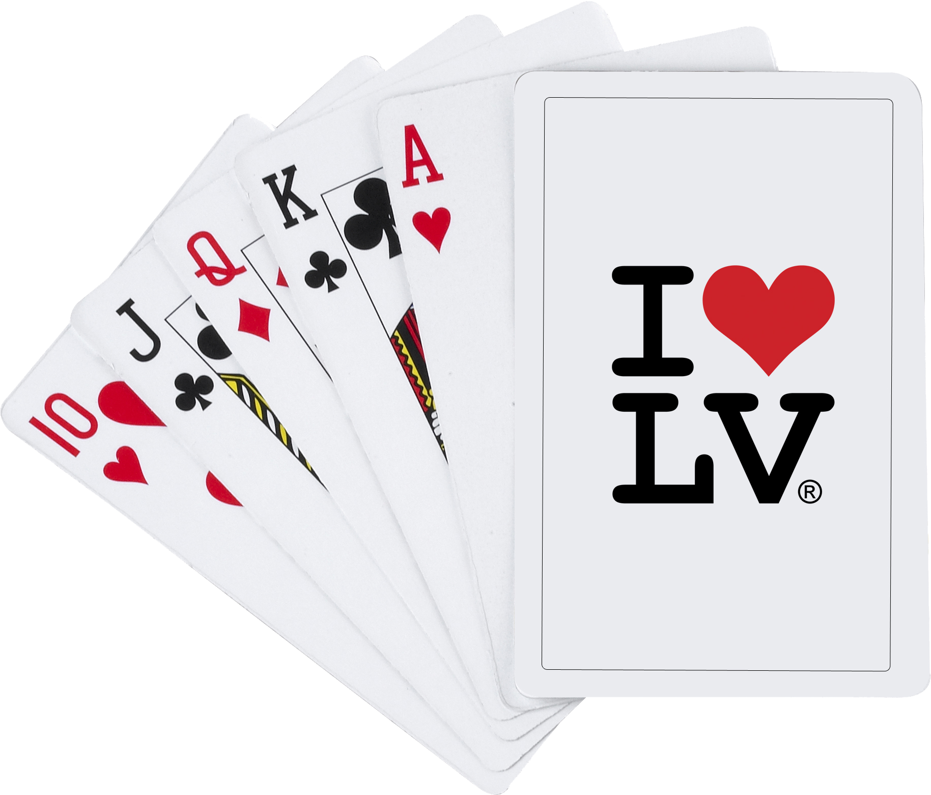 I Love LV® Classic Playing Cards