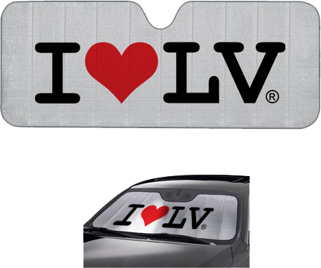 I Love LV® Classic Car Shade