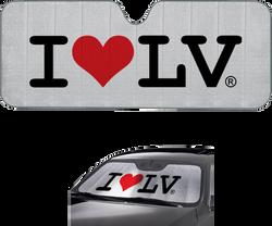 I Love LV® Classic Car Shade